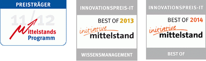 Three Innovation Awards for WisTuM, WisARD und Velar